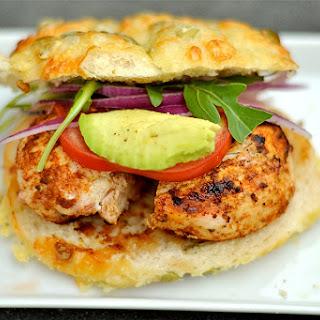 Grilled Cajun Chicken Burgers