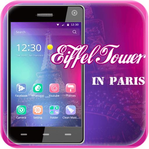 时尚法国巴黎埃菲尔铁塔手机主题 遊戲 App LOGO-硬是要APP