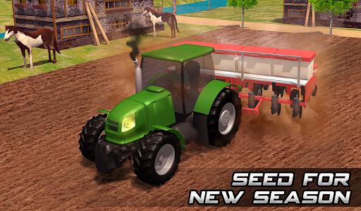 Farming sim 2018 - Tractor driving simulator apkdebit screenshots 13