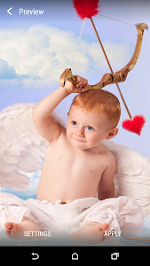 Baby Cupid Live Wallpaper screenshot 1