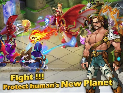 Monster Planet -Dragon legends screenshot