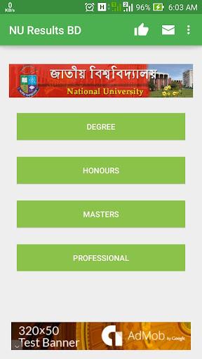 NU Results BD