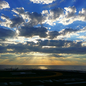 Cloudy Sunrise Offshore by Reon Rich - Instagram & Mobile Android ( clouds, android, offshore, sunrise, namibia,  )