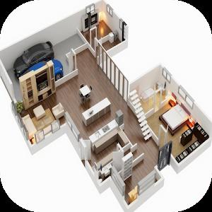 Planos de la casa 3d aplicaciones de android en google play for Plano casa 3d