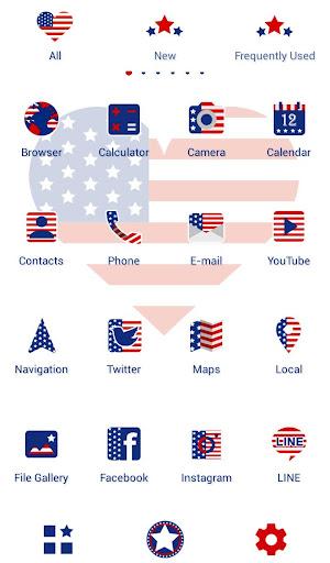 USA Flag Heart Wallpaper 1.0.0 Windows u7528 3