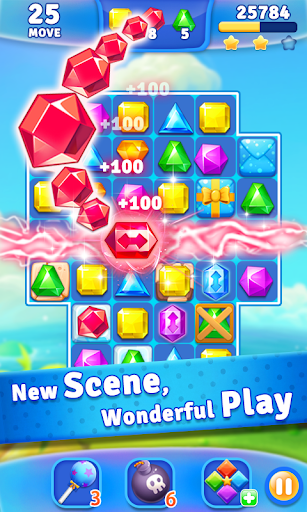 Jewel Crush - Jewels & Gems Match 3 Legend 2.1.1 screenshots 4