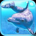 Underwater world. Adventure 3D icon