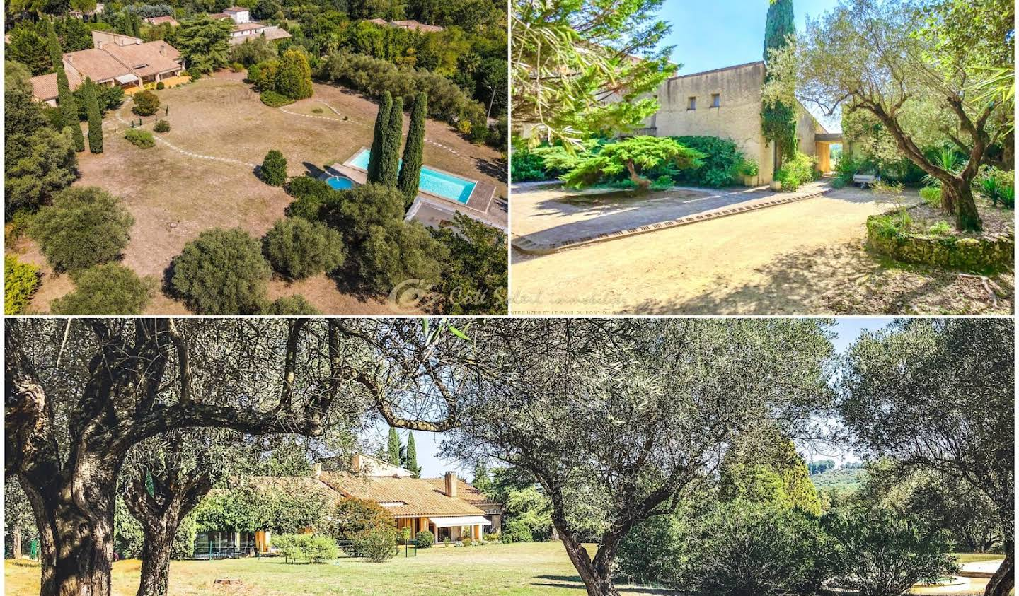 Villa with pool and terrace Uzès