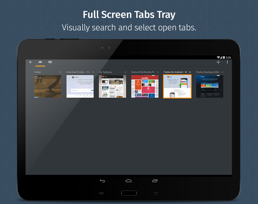 Firefox for Android Beta screenshots 9