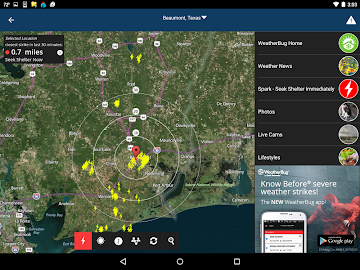 WeatherBug Screenshot 11