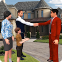 Virtual Rent House Search: Happy Family Life icon