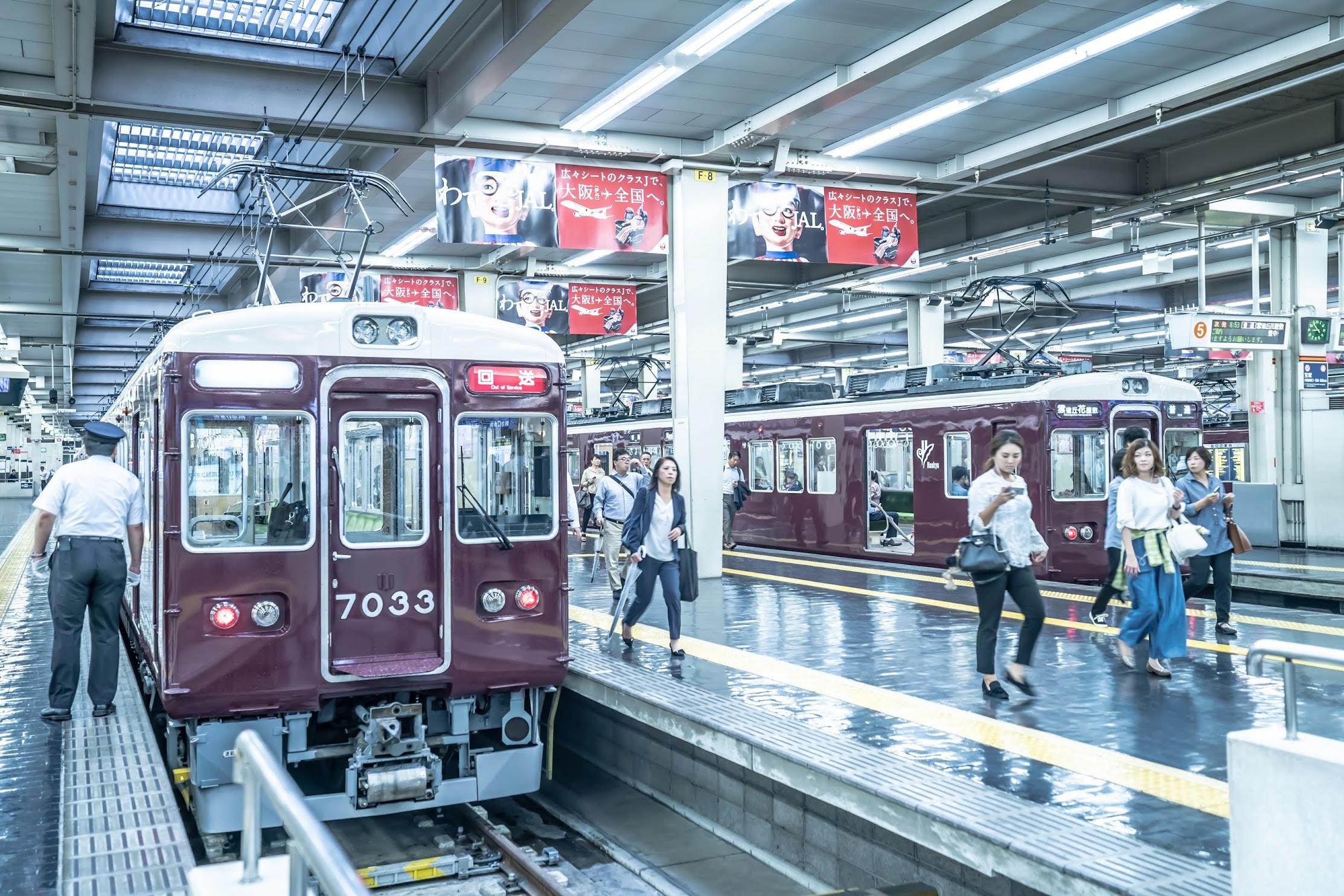 Hankyu Umeda station4