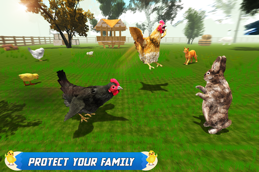 New Hen Family Simulator: Chicken Farming Games apkpoly screenshots 3