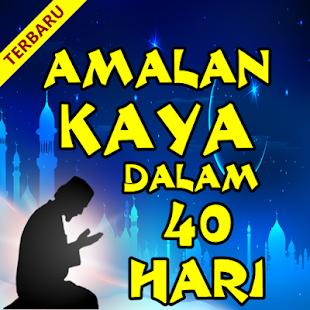Amalan Kaya Dalam 40 Hari - náhled