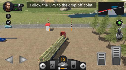 Real Truck Driving Simulator filehippodl screenshot 11