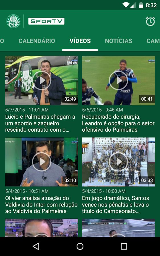 Palmeiras SporTV- screenshot