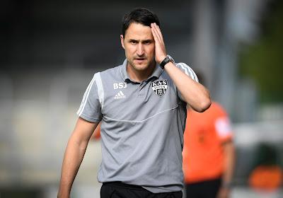 Le coach d'Eupen à la fois triste et fier de ses troupes après la défaite contre le Club de Bruges