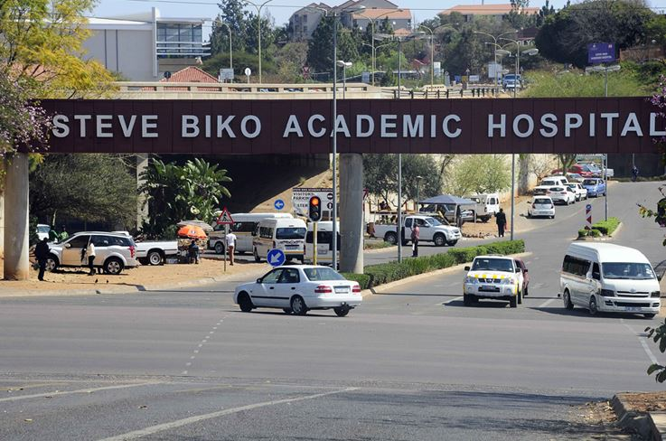 Steve Biko Academic Hospital. File photo.