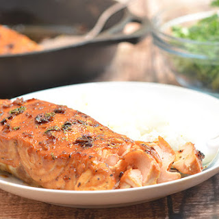 Honey Garlic Salmon.