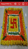 Rangoli With Flowers - screenshot thumbnail 02