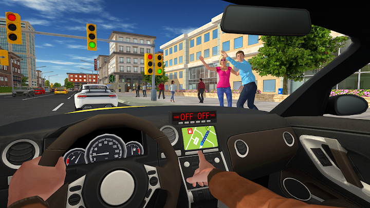 Taxi Game 2 Android App Screenshot
