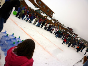 Photo: Human Bowling in Grand Lake, CO