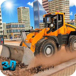 City Construction Crane Simulation: Pro Builder