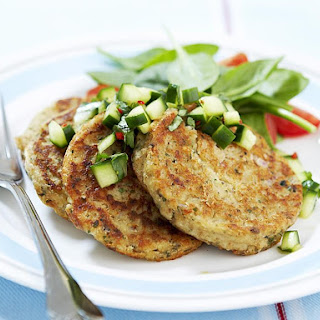 Tofu Patties with Thai Salsa
