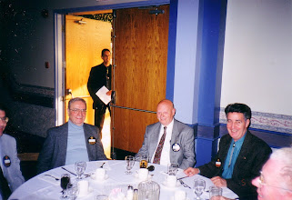 Photo: Hellenic: Stewart Woermke, ?, Dale Gaudet at the door, Simon Jol, Gabriel Laszlo