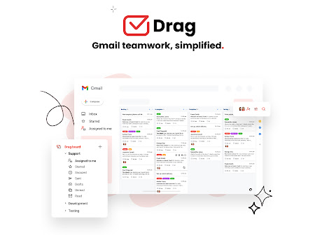 Drag for Gmail