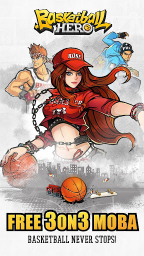 Basketball Hero-Freestyle 2 mobile 3on3 MOBA 1.2.1 screenshots 1