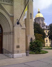 Photo: Chapel, Notre Dame campus, South Bend IN YRE