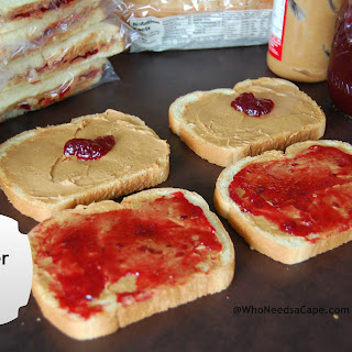 Freezer Peanut Butter and Jelly.