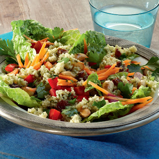 Couscous-Salat mit Rosinen