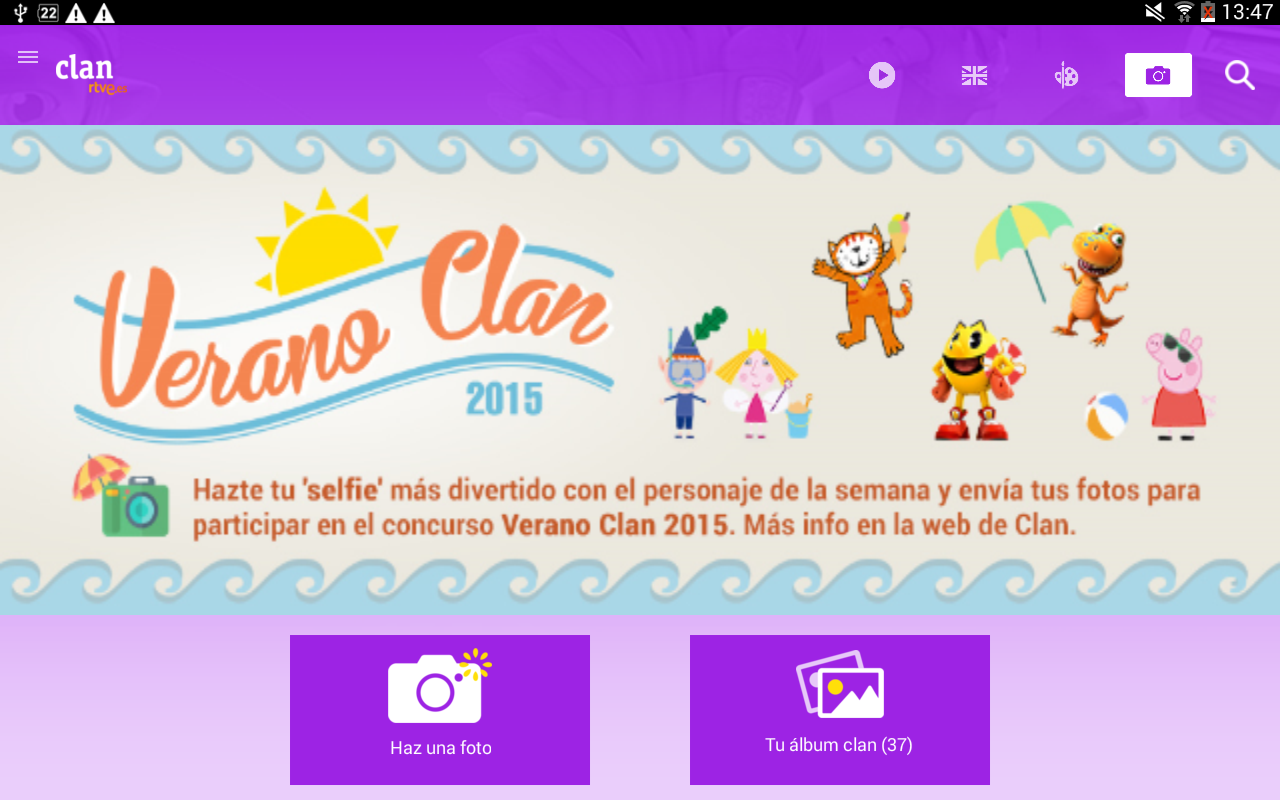 Clan RTVE- screenshot