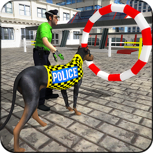 Police Dog Stunt Training for PC and MAC