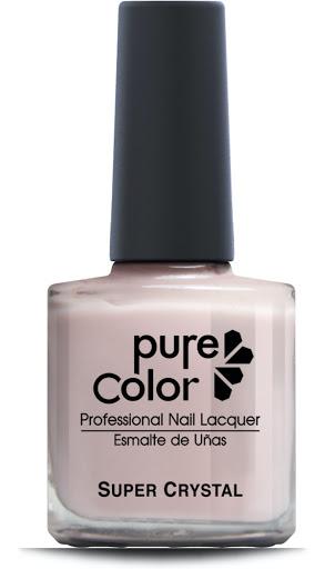 esmalte pure color brillo color rosa pálido pcb-112