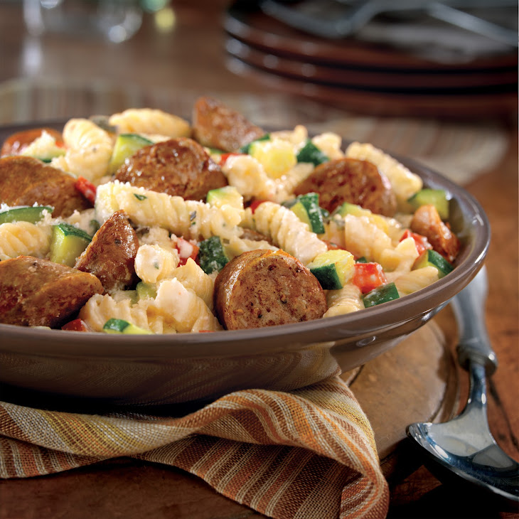 Italian Sausage with Pasta and Herbs
