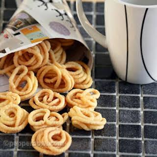 Mini Murukku recipe of Readymade Snack.