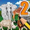 Animal Coloring Kingdom AR 2 icon