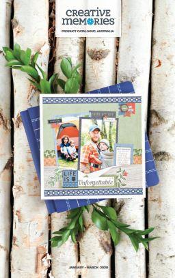 Creative Memories Catalogue Product Catalogue