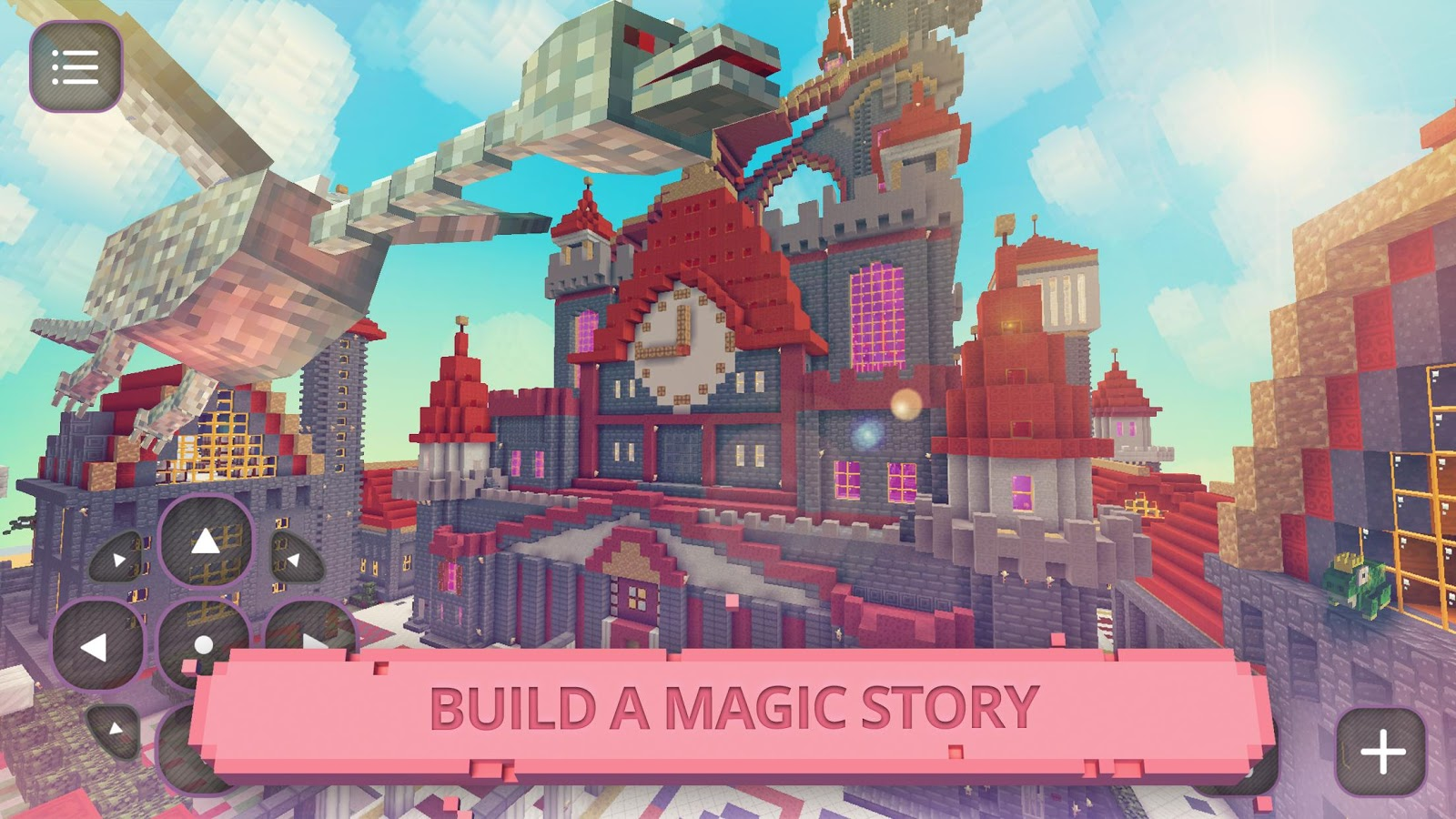 Fairytale blocky girls craft android apps on google play for Crafting and building 2