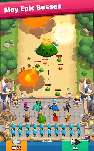 Wild Castle: 3D Offline Strategy Defender TD  screenshots 20