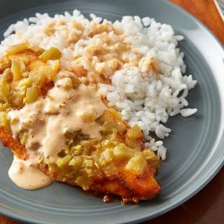 Slow-Cooker Green Chile Chicken Breasts.