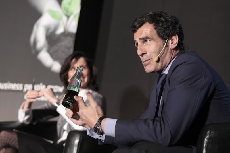 Photo: Carlos Chaguaceda, Director Corporativo y Presidente del Instituto de la Felicidad de Coca Cola