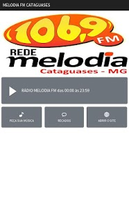 Melodia FM Cataguases- screenshot thumbnail