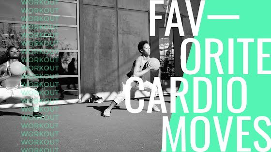 Favorite Cardio Moves - YouTube Thumbnail Template