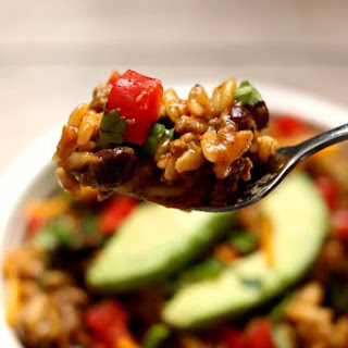 Slow Cooker Cheesy Taco Orzo Recipe