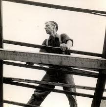Photo: Derk Raterink, arbeider bij timmerbedrijf Lanjouw