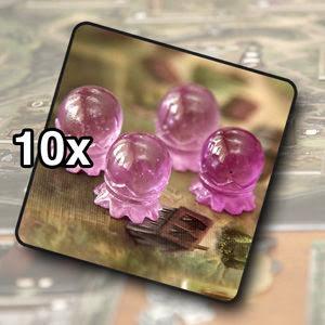 Crystal ball tokens (10)
